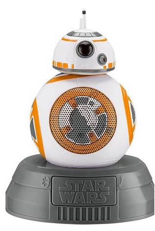 Портативная колонка беспроводная eKids iHome Star Wars BB-8 Droid (LI-B67B7.FMV6), фото 2