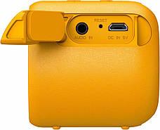 Портативная колонка беспроводная Sony SRS-XB01Y Желтый, фото 3