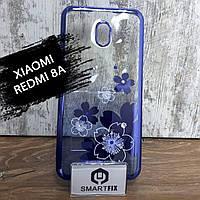 Силіконовий чохол для Xiaomi Redmi 8A Квіти