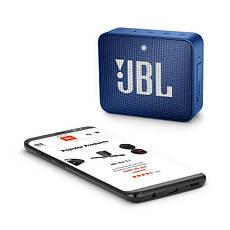 Портативна колонка безпровідна JBL GO 2 Синій, фото 3