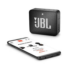 Портативная колонка беспроводная JBL GO 2 Черный, фото 3