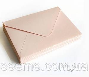 Конверт 184x140 мм, цвет нюд (nude)