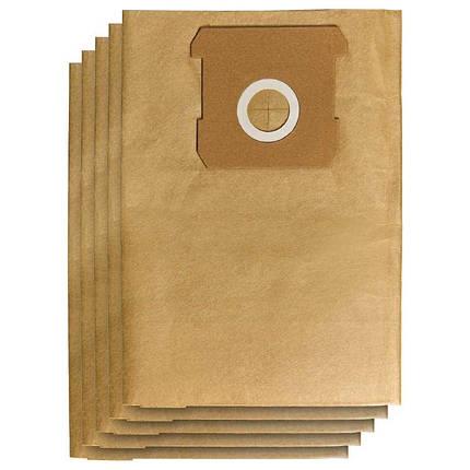 Мешки бумажные к пылесосу Einhell TE-VC 18/10 Li-Solo (5 шт.), фото 2