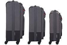 Набір текстильних валіз Wenger Deputy Set 3 шт. Сірий/ Чорний (604364), фото 3