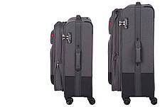 Набір текстильних валіз Wenger Deputy Set 3 шт. Сірий/ Чорний (604364), фото 2
