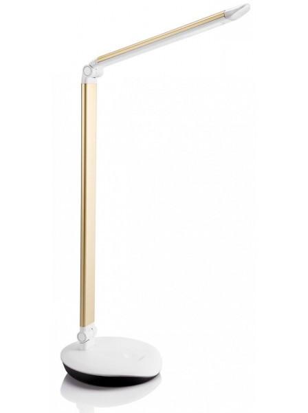 Лампа настільна Philips Lever LED Золотистий