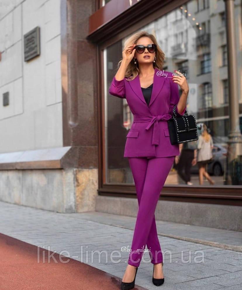Женский стильный костюм, красивый костюм