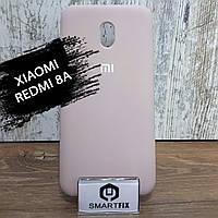 Силіконовий чохол для Xiaomi Redmi 8A Soft Пісочно-рожевий