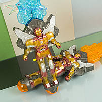 Игрушечный, детский, светящийся меч Железный Человек, фото 2