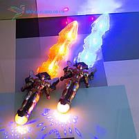 Игрушечный, детский, светящийся меч Железный Человек, фото 3