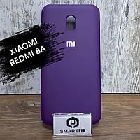 Силіконовий чохол для Xiaomi Redmi 8A Soft Темно-фіолетовий