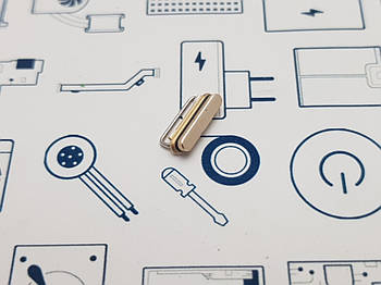 Кнопка пластиковая iPhone 6s золото Сервисный оригинал с разборки