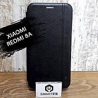 Чохол книжка для Xiaomi Redmi 8A Gelius Leather Чорний