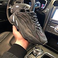 Кроссовки мужские Adidas Yeezy Boost 700 V2 Black - Адидас Изи Буст