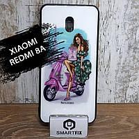 Чохол з малюнком під захисним склом для Xiaomi Redmi 8A Дизайн №1