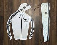 Спортивный мужской костюм Adidas Серый