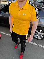 Спортивный костюм мужской Under Armour Yellow - Желтый