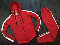 Спортивный мужской костюм Puma кап лампас Красный, 1589909128