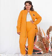 Женский батальный спортивный костюм (3 цвета)