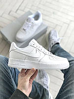 ✔️ Кроссовки мужские, женские Nike Air Force 1 Low White - Найк Аир Форс Низкие, Белые