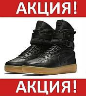 ✔️ Кроссовки мужские Nike(Найк) SF Air Force 1 High Special (Спешл) Field Black (Черный)