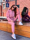 Женский спортивный костюм с укороченной кофтой на резинке и штанами на манжетах 36051040, фото 5