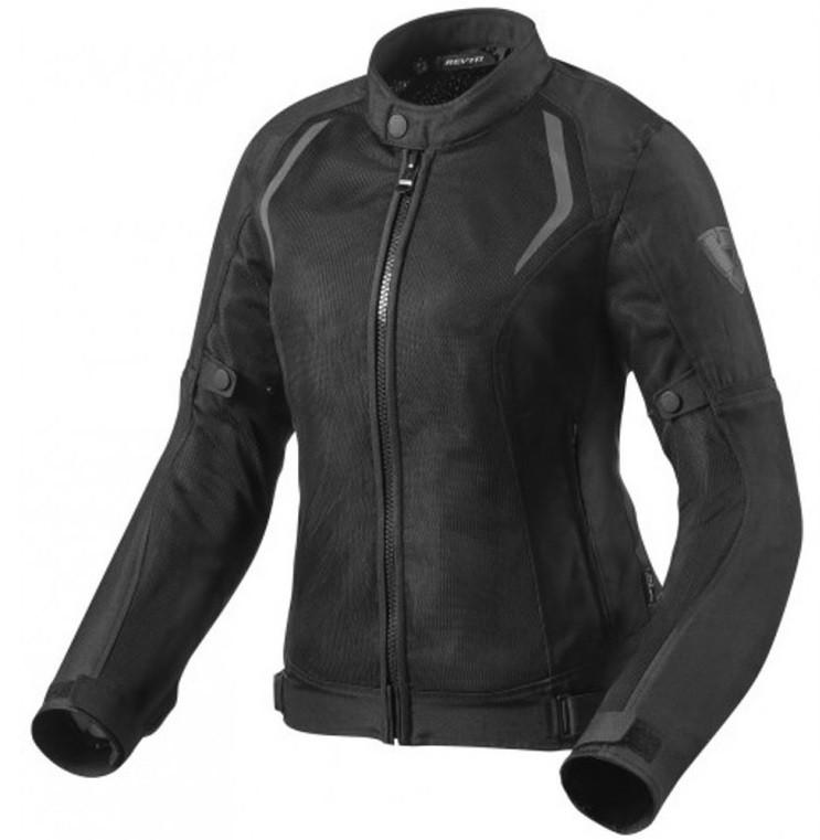 Мотокуртка женская Revit Torque текстиль черная, 38