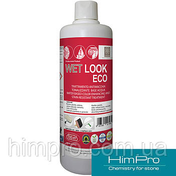 WET LOOK ECO 1L Усилитель цвета и защита от пятен на водной основе, для всех впитывающих поверхностей.
