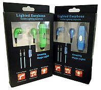 Светящиеся наушники Light Earphone 4420, фото 1