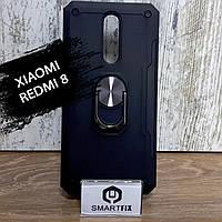Противоударный чехол для Xiaomi Redmi 8 Serge Ring Черный, фото 1