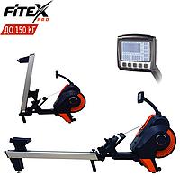 Гребний тренажер Fitex R900G. Повітряний. Комерційний. До 150 кг. Маховик 5,6 кг
