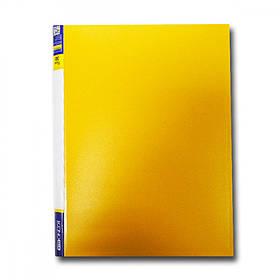 "Папка з файлами А4/30 ""Economix"" E30603-05 жовтий."