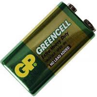 Сольова Батарейка КРОНА Greencell (1604GLF, 6F22) GP 9V
