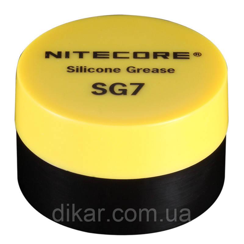Силиконовая смазка Nitecore SG7 для фонарей и лазеров (5г)