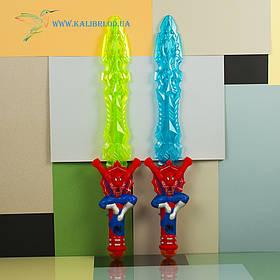 Игрушечный, детский, светящийся меч Человек Паук