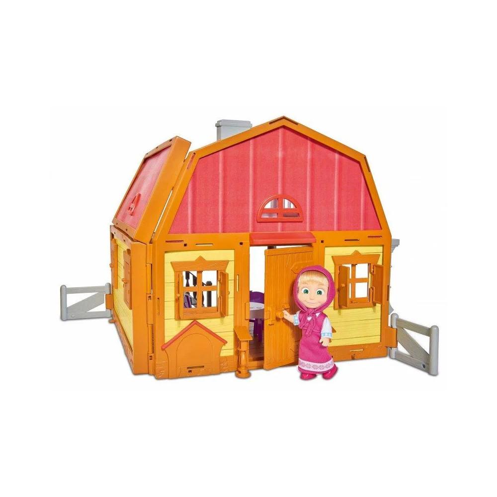 Игровой набор Маша и Медведь Дом Маши Simba 9301038
