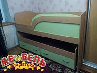 Детская двухъярусная кровать-комод КК3 Merabel