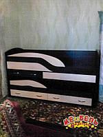 Детская двухъярусная кровать-комод КК4 Merabel