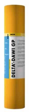 DELTA-DAWI GP универсальная пароизоляционная плёнка, Sd=100 м
