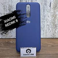Силиконовый чехол для Xiaomi Redmi 8 Soft Синий, фото 1