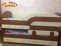 Детская двухъярусная кровать-комод КК5 Merabel