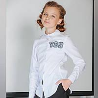 Блуза с длинным рукавом и вышивкой YES-NO