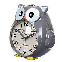 Часы будильник Lefard Сова 15х15х11 см 12008-002-A, фото 1