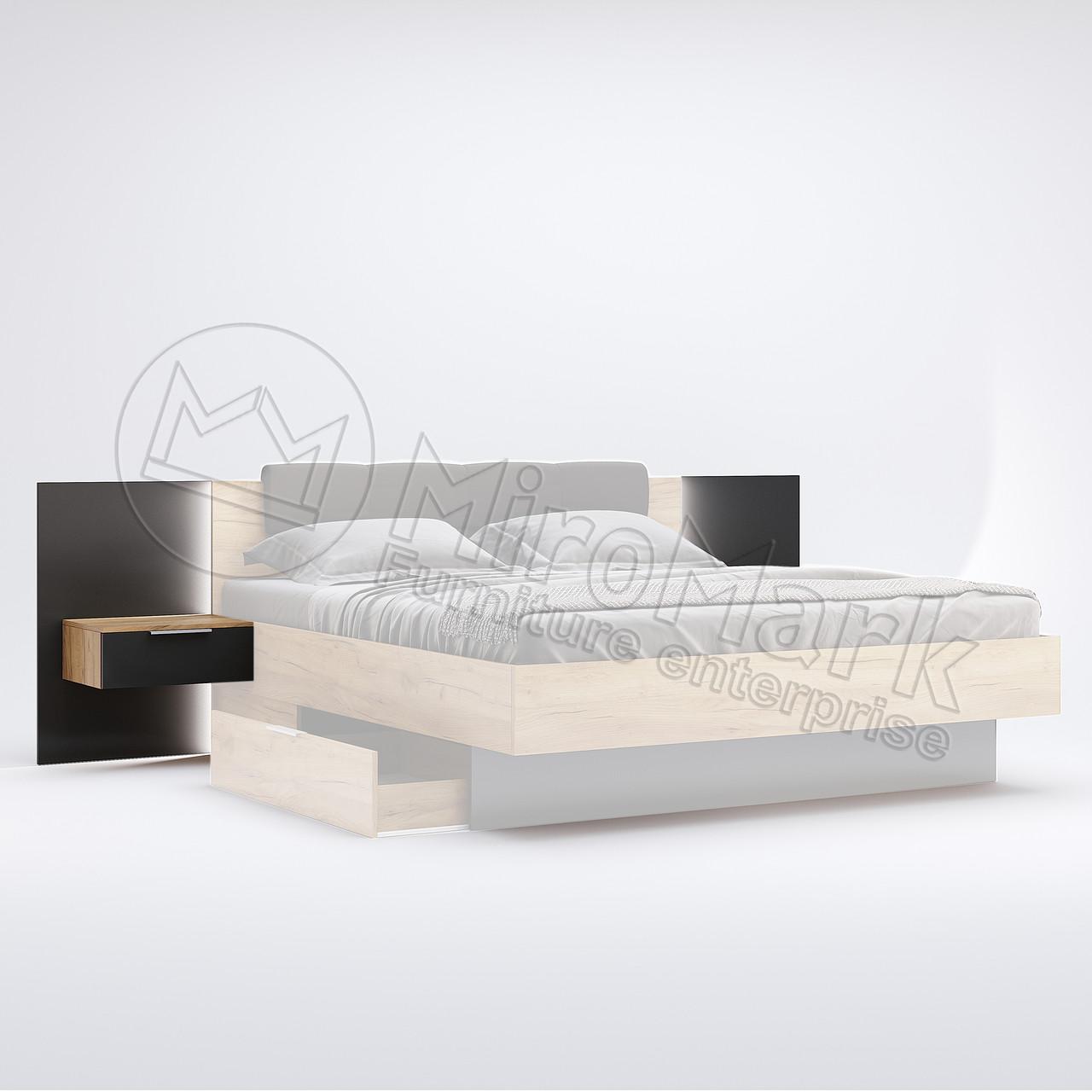 Тумбы прикроватные приставные Луна 2шт ТМ Миро-Марк