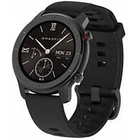 Мужские умные часы, смарт часы Amazfit GTR 42 mm Black