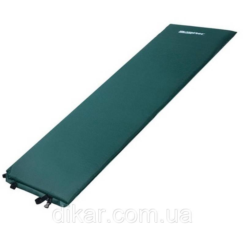 Коврик самонадувной КЕМПИНГ LGM-3 CMG849, зеленый
