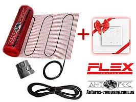 Нагрівальний мат тонкий під плитку в клей стяжку FLEX EHM клас захисту IPX7 (2 м.кв) серія Terneo S