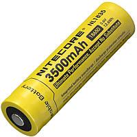 Аккумулятор литиевый Li-Ion 18650 Nitecore NL1835 3.6V (3500mAh), защищенный, фото 1