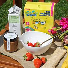 """Сухой завтрак из воздушного амаранта """"Amaranthus & Chia"""" с фруктами"""