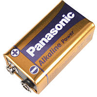 Лужна Батарейка крона (6LF22) Panasonic Alkaline Power 9V